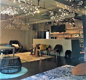 華やかなキッチン型撮影スタジオ